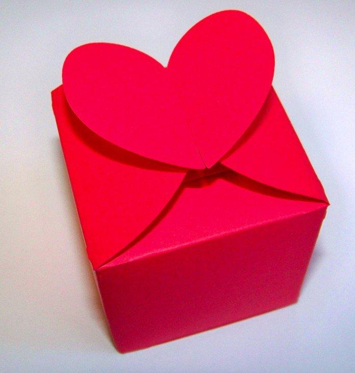Коробочка с сердцем