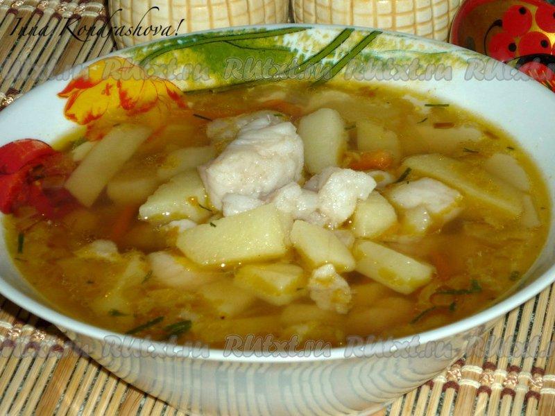 Рецепт супа из пангасиуса