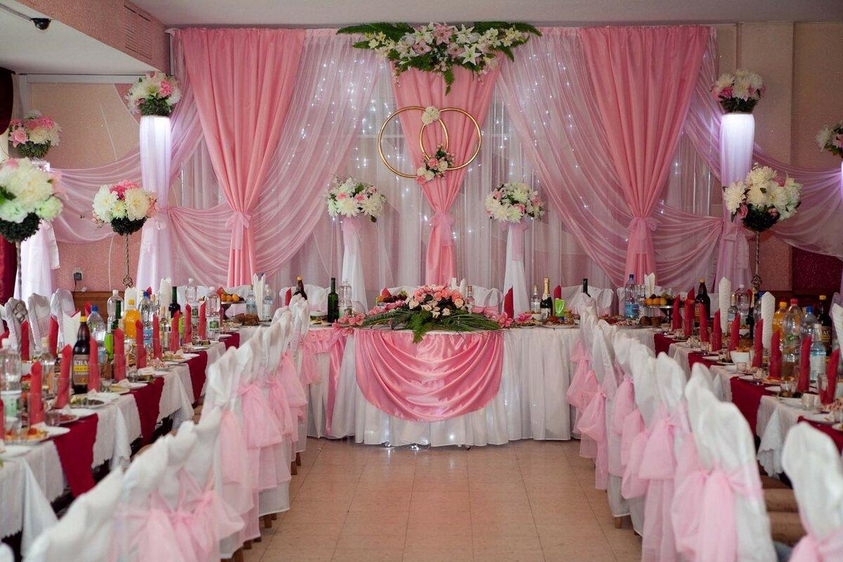 Украшения залов на свадьбу сделай сам