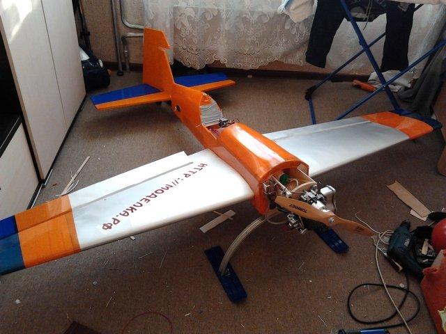 Сделать сам самолет с моторчиком своими руками 969