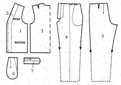 Как из брюк сшить жилет мастер класс 38