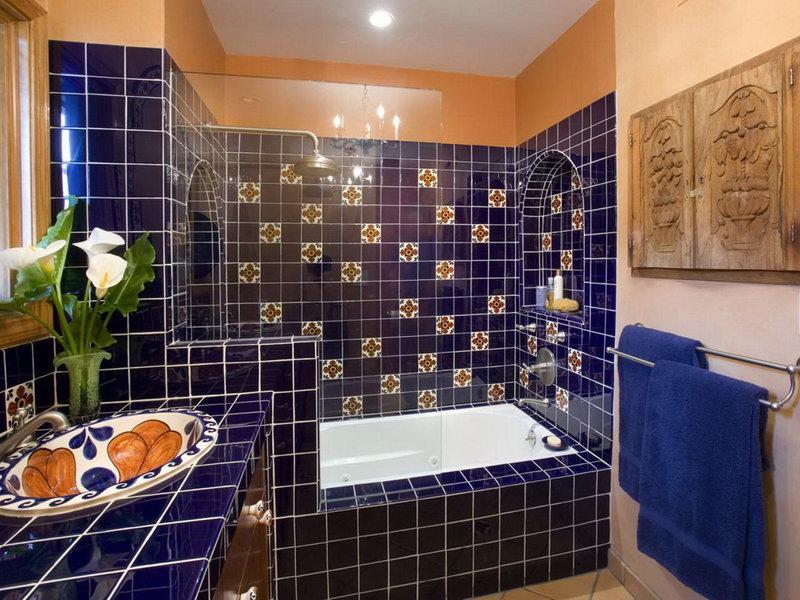 Облицовка плиткой ванной комнаты дизайн