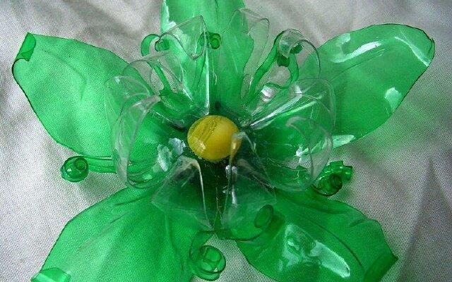 Поделка из пластиковой бутылки своими руками цветок
