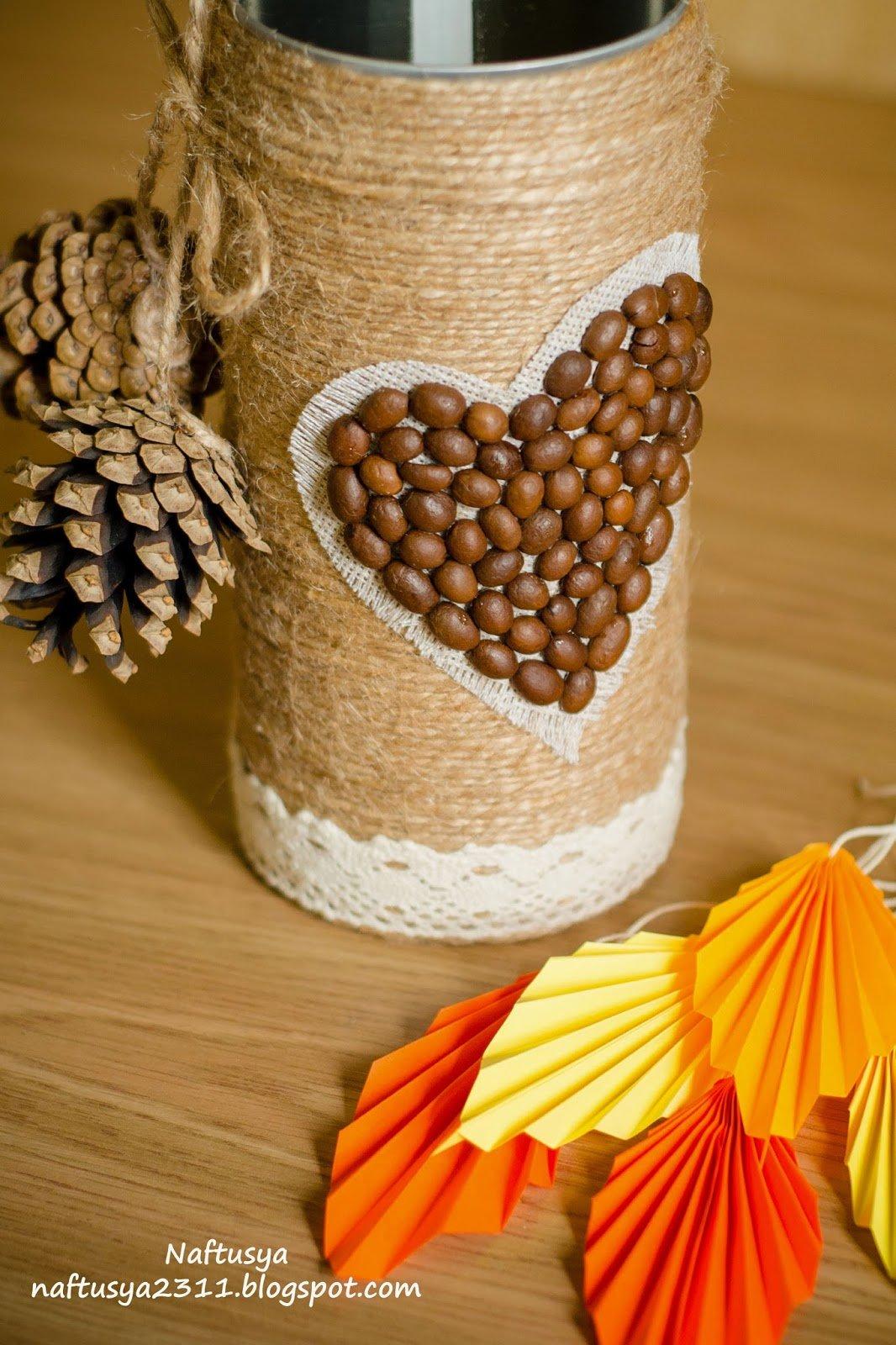 Декоративные вазы своими руками мастер класс