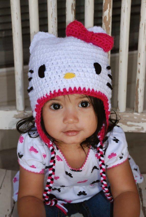 Вязания детской шапочки для девочки