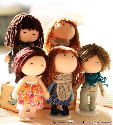 Мини-кукла своими руками 733