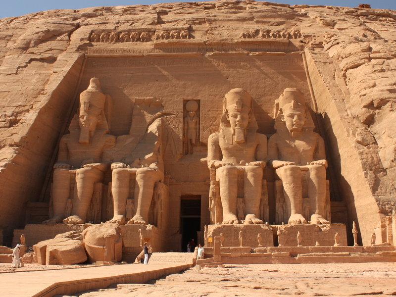 Abu Simbel, Near Aswan, Egypt  № 2245593  скачать