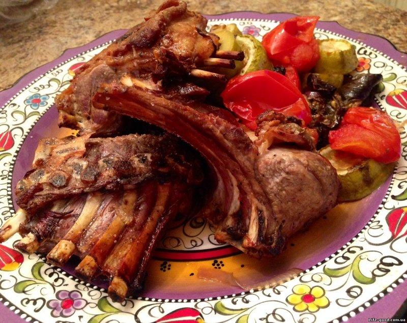 Блюда из бараньих ребер рецепты