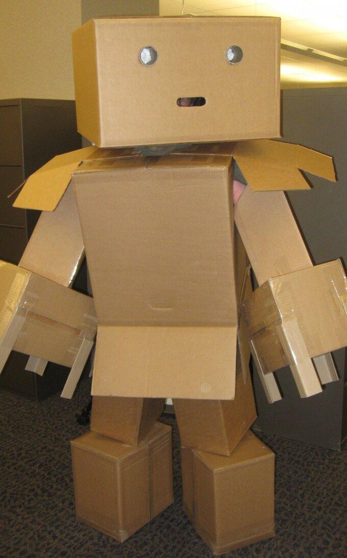 Сделать робота из картона своими руками 70
