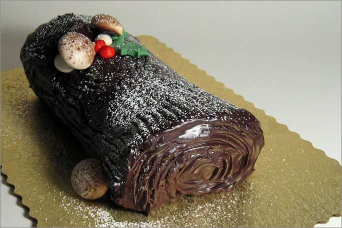 Торт полено в домашних условиях 485
