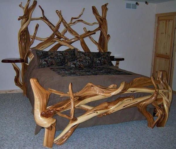 Кровать с дерева своими руками фото 68