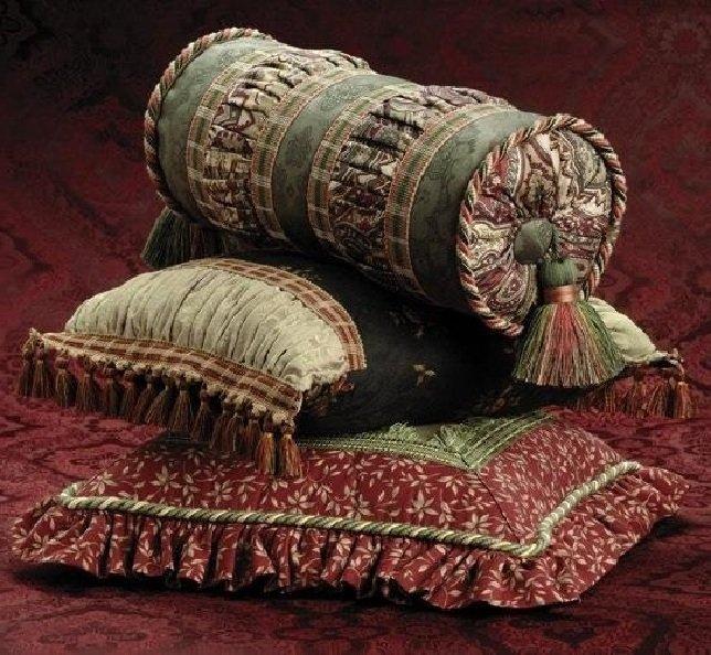 Декоративные подушки своими руками в восточном стиле 5