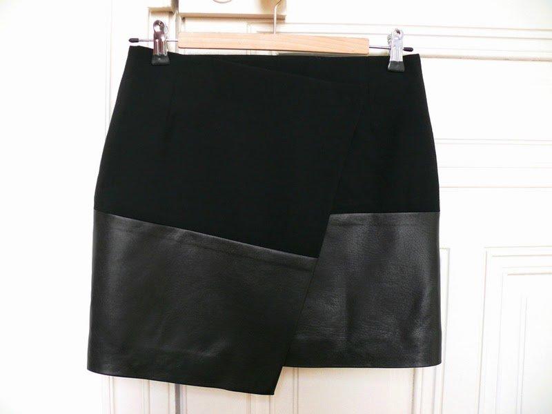 Как сшить юбку из кожзама своими руками
