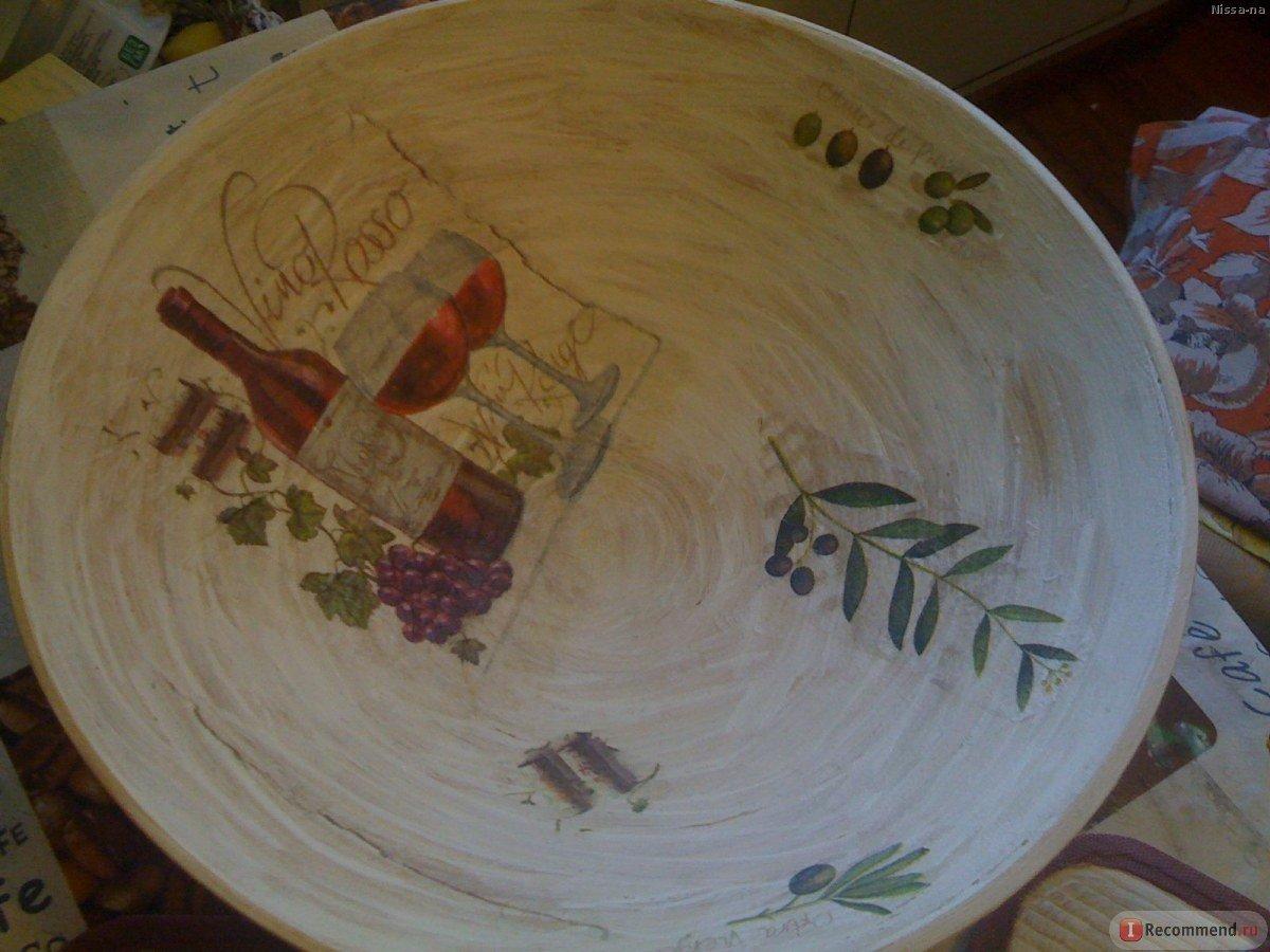 Декоративные тарелки на стену: способы декорирования, 75 фото, видео 56