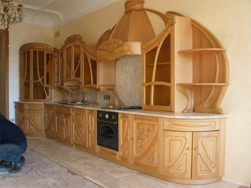Резная мебель для кухни своими руками