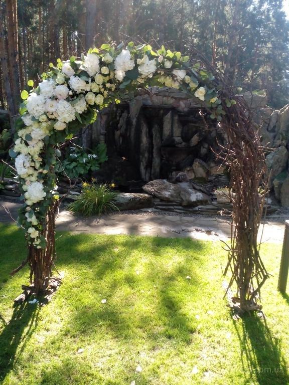 Арки для свадьбы своими руками из прутьев