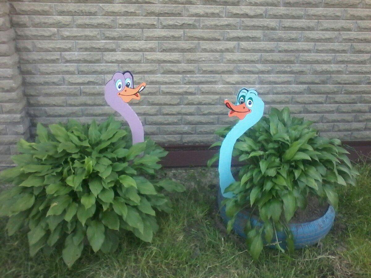Картинки поделки для сада