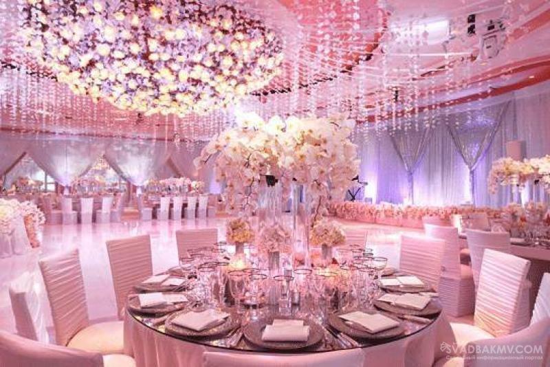 Шикарный ресторан на свадьбу