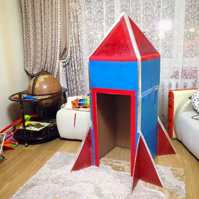 Как на дому сделать ракету из 476