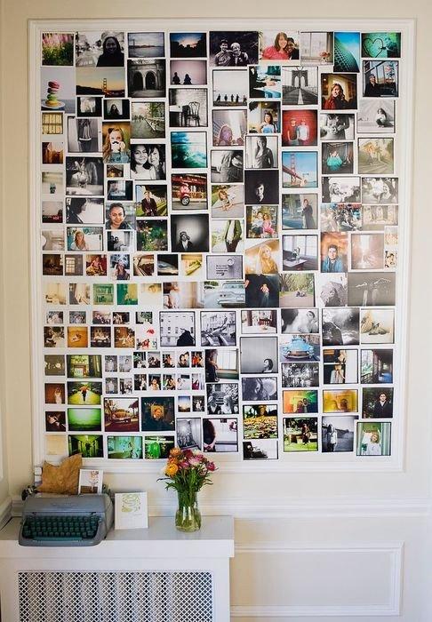 Фотоколлаж своими руками на всю стену фото 61