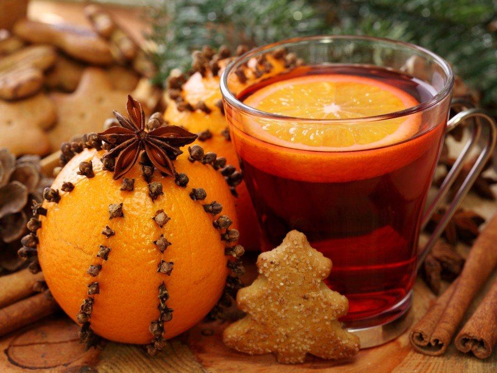 Рецепт глинтвейна с апельсином и лимоном