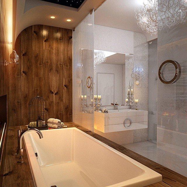 Сделать дизайн ванной своими руками