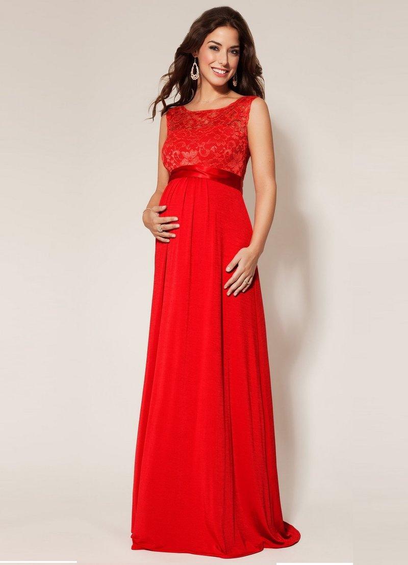 Фото беременных девушек в вечернем платье