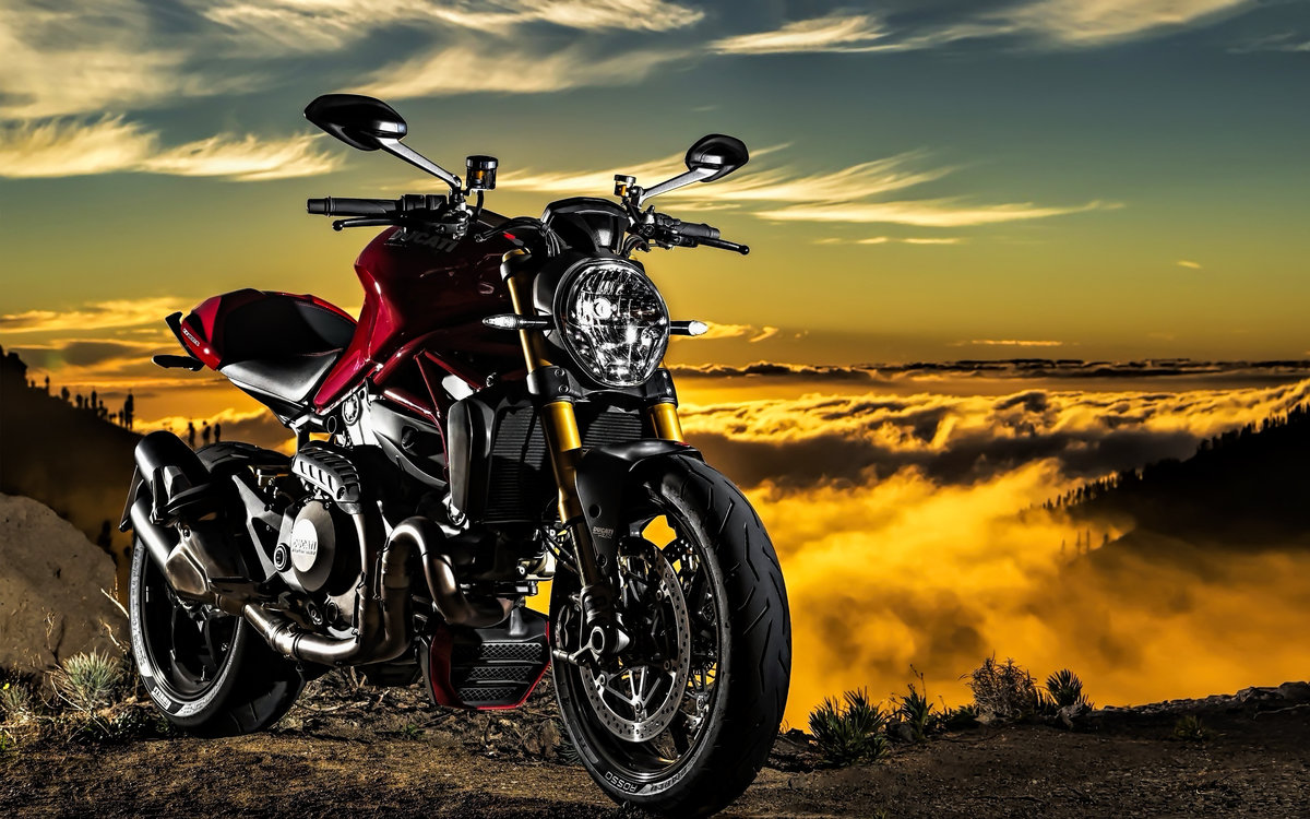 Мотоцикл Ducati море  № 3435360  скачать