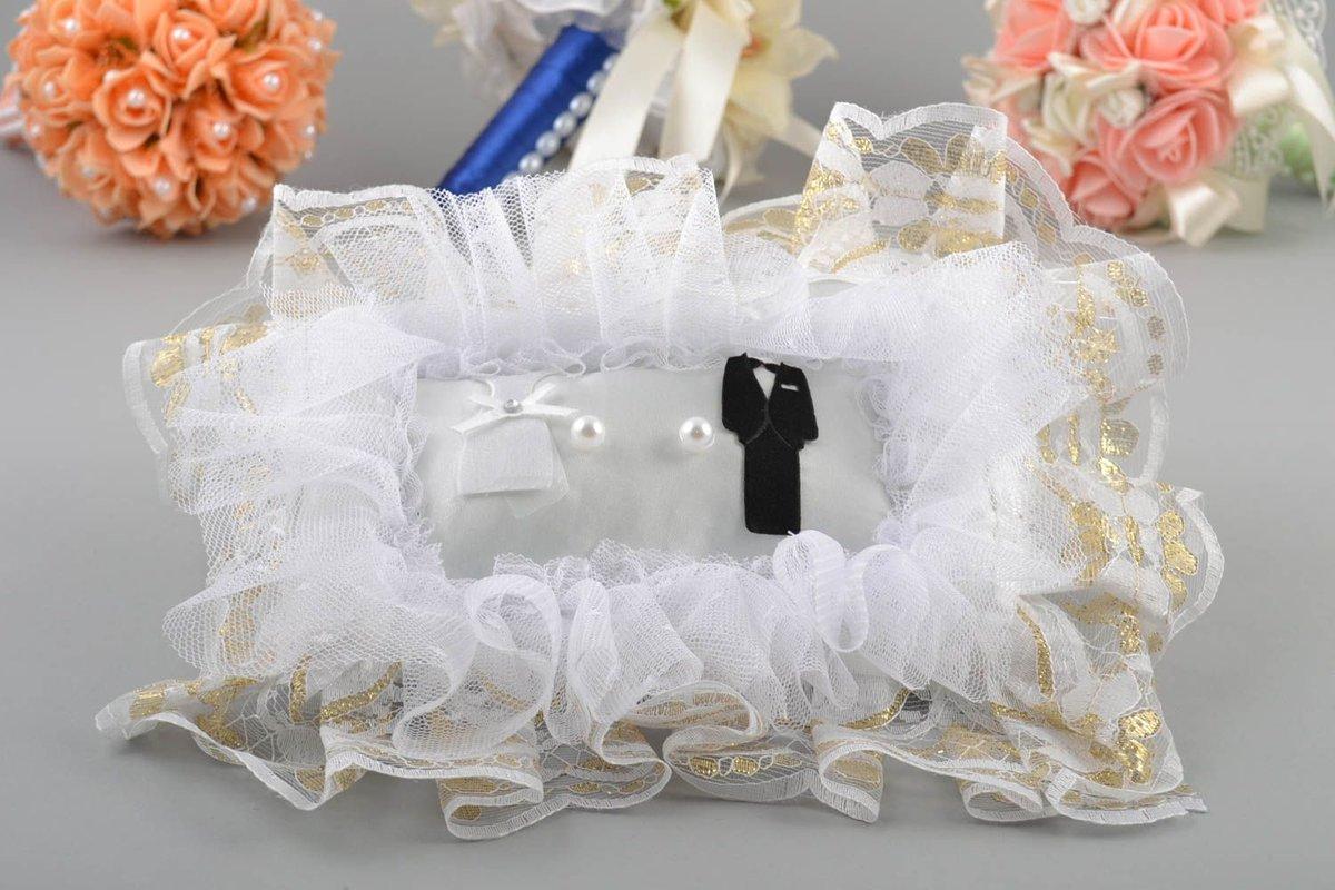 Как сшить подушечку для колец на свадьбу 75