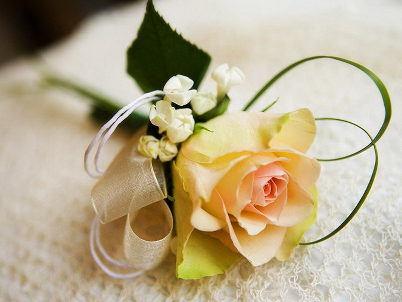 Бутоньерки из цветов своими руками