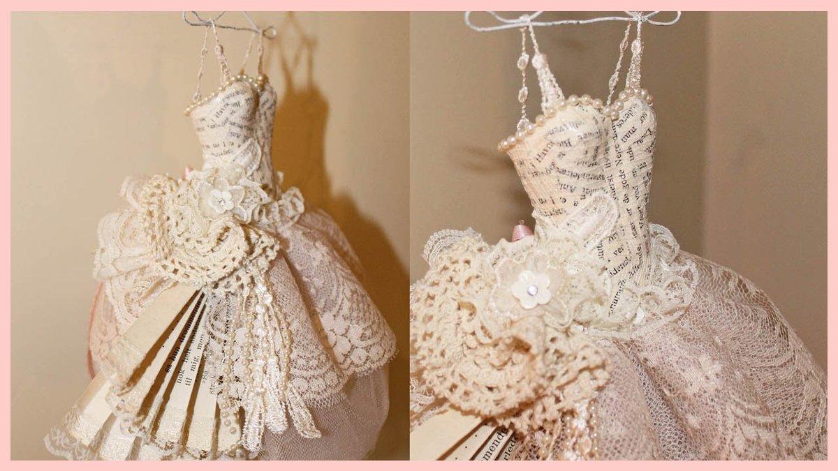 Кукольные платья из кружева своими руками