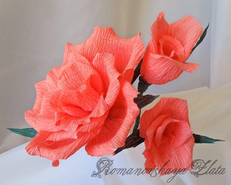 Смотреть как из гофрированной бумаги сделать цветы