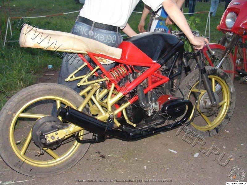 Как сделать свой мотоцикл громче 449