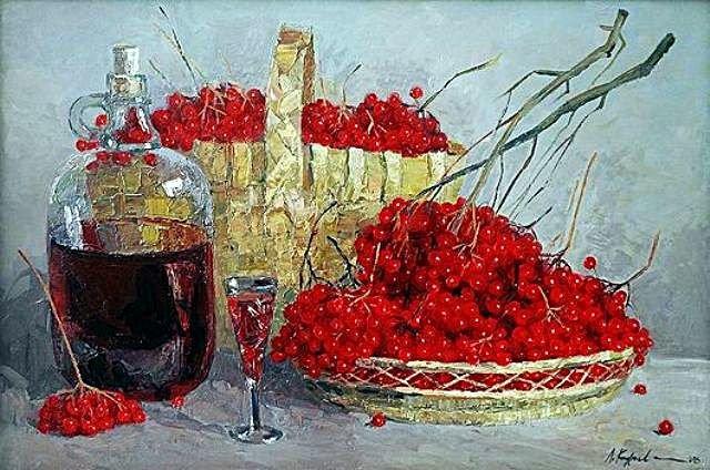 Как сделать вино из калины в домашних