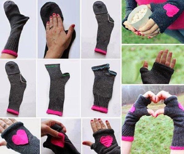 Что можно сделать из носка одежда