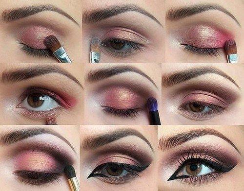 Как в домашних условиях научится делать макияж