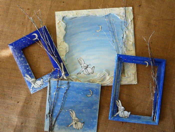 Рамки для картин своими руками в мастер класс
