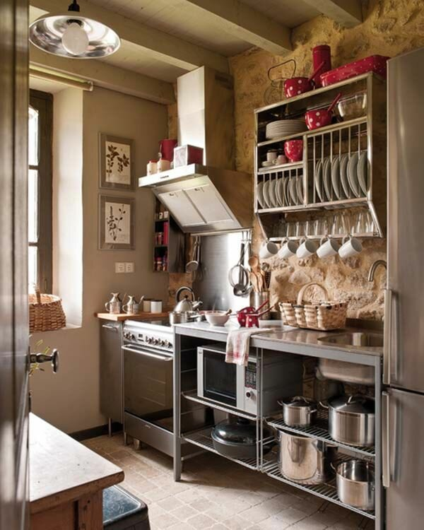 Идеи для интерьера маленькой кухни своими руками