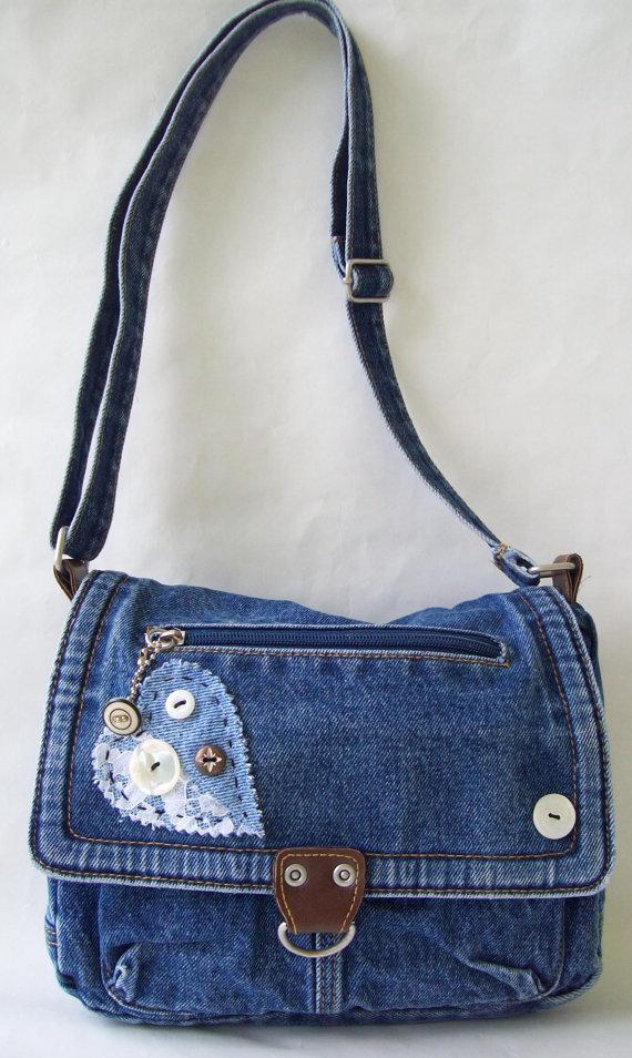 Своими руками сумка джинсовая