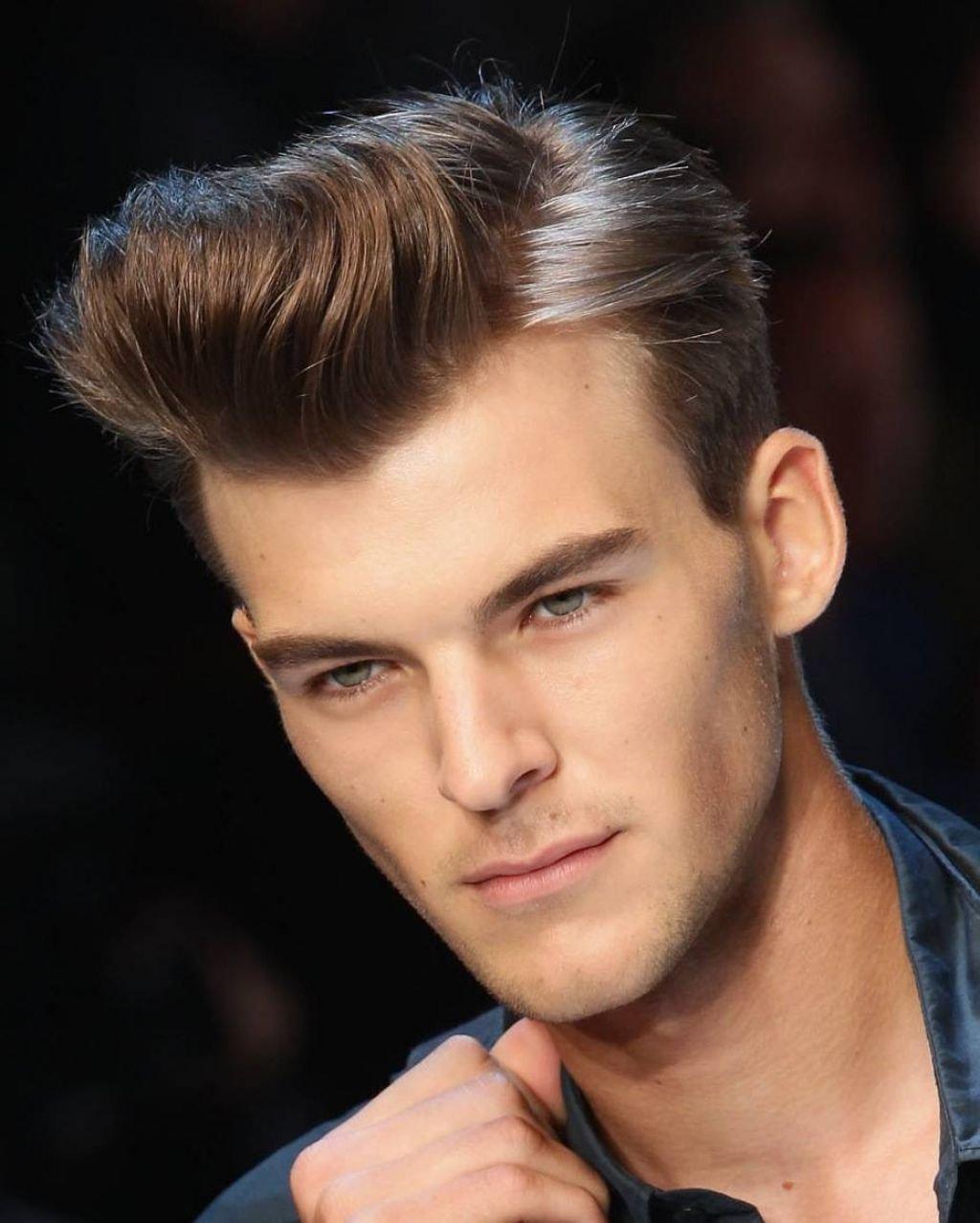 Мужские причёски на квадратное лицо