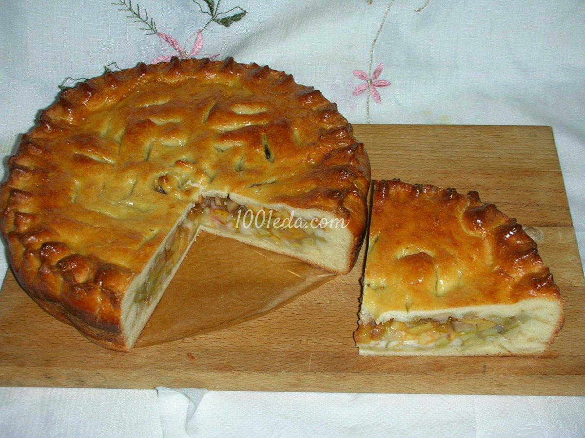 Пироги из сдобного теста рецепты с фото