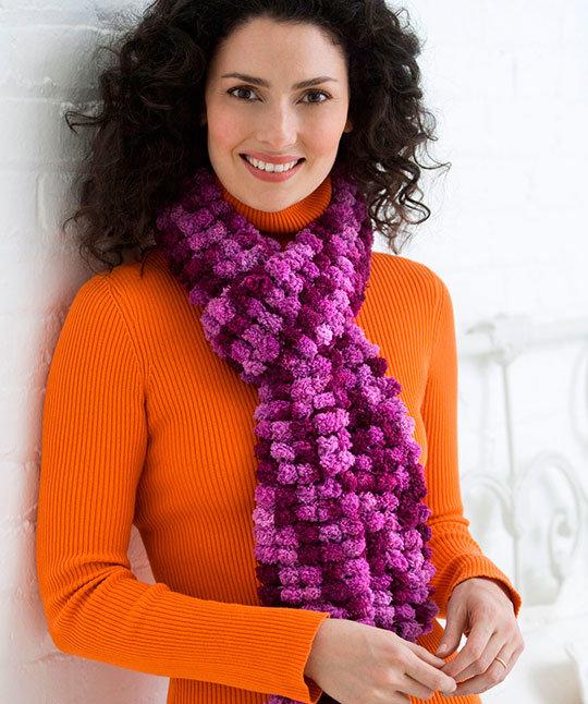 Вязание красивые женские шарфы 33