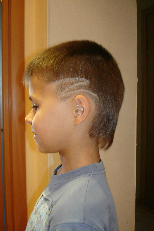 Причёски для мальчиков молнии