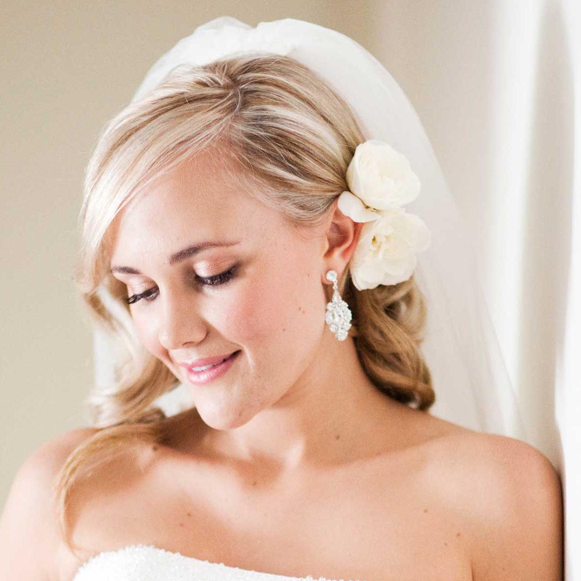 Фото прически на свадьбу для невесты