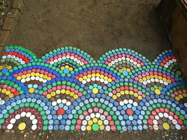 Из пробок пластиковых пробок своими руками для сада и огорода