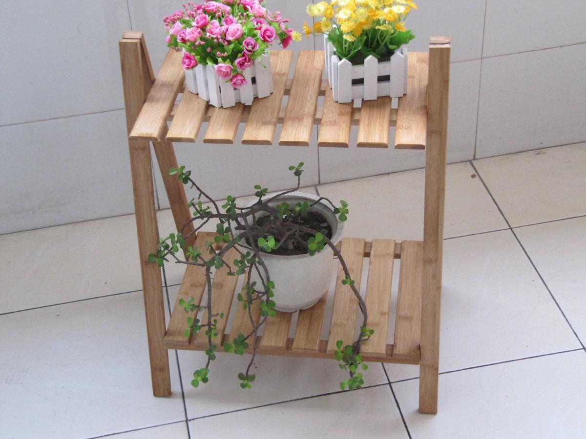 Напольная подставка для цветов своими руками фото