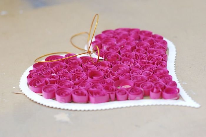 Сердечки к дню св.валентина своими руками