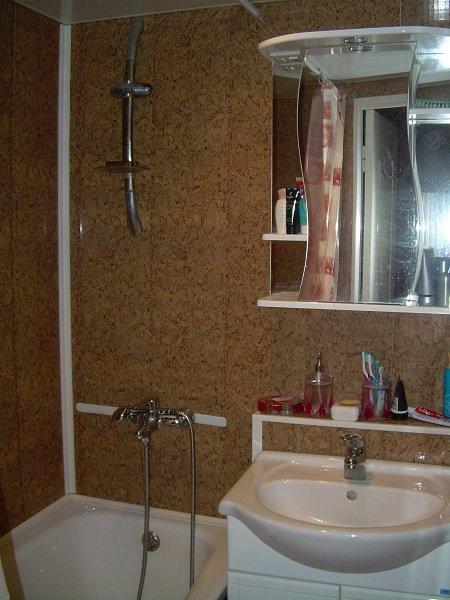 Дизайн ванной комнаты в хрущевке панелями пвх