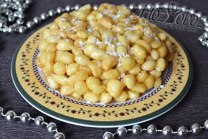 Чак чак крупный рецепт по татарски с пошагово