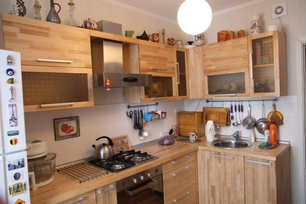 Кухонный гарнитур фото своими руками 762